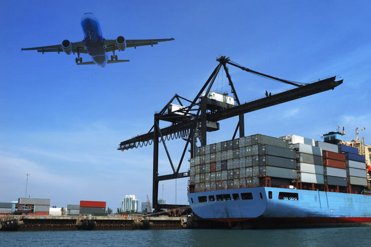 Ocean and air freight services
